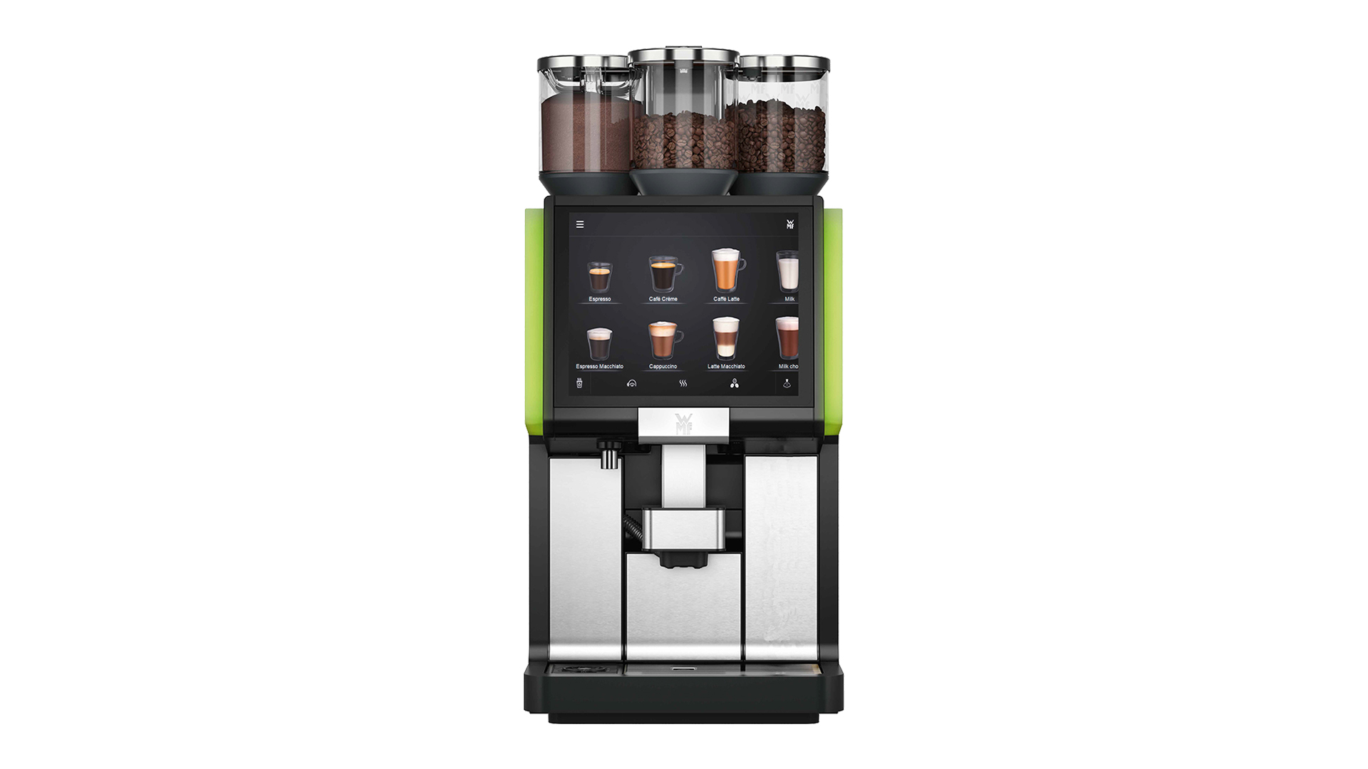 CAFETERA WMF 5000 S+ DYNAMIC MILK 2 MOLINOS CHOCOLATE