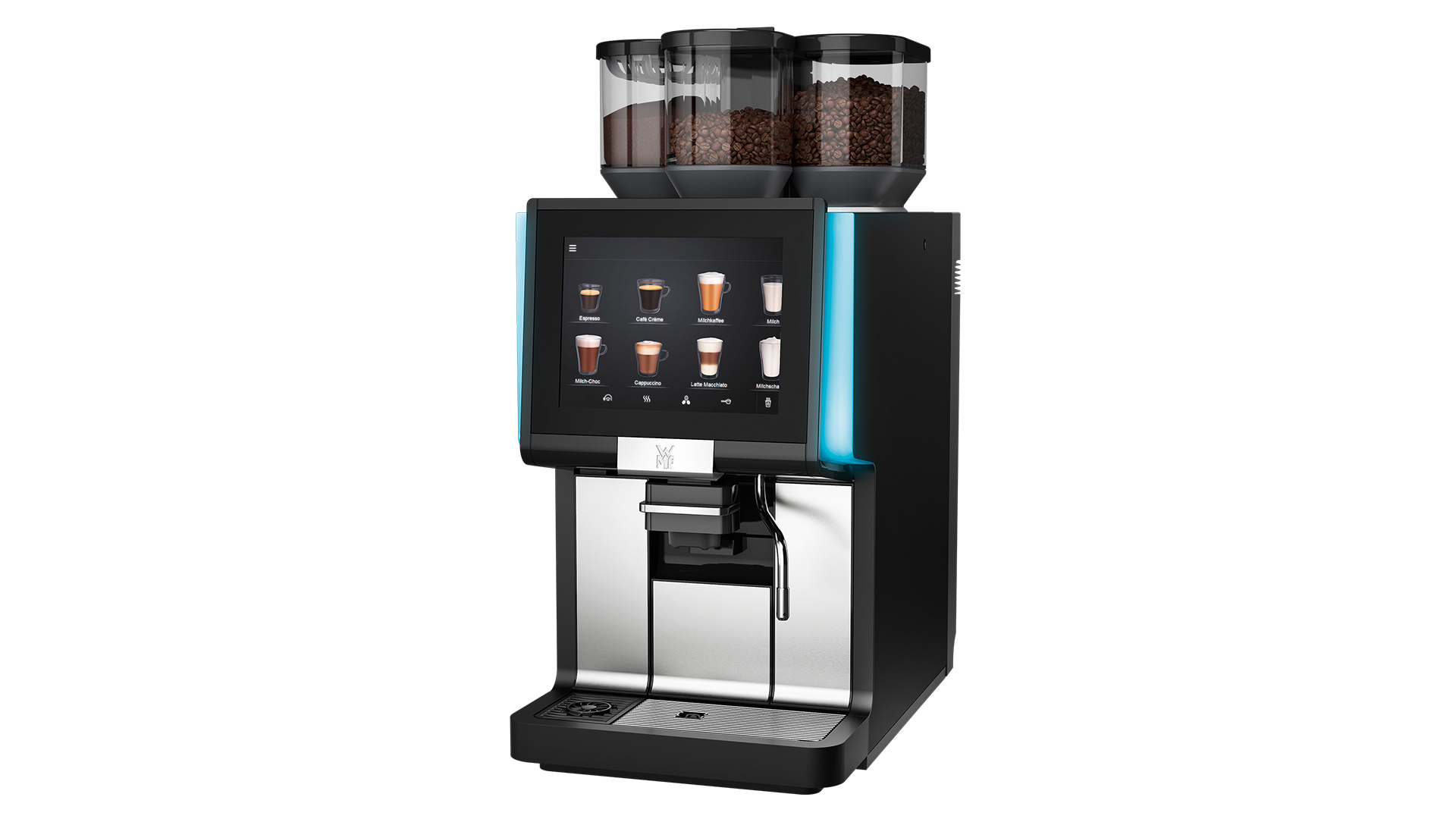 WMF 1500 S+ DYNAMIC MILK 2 MOLINOS CHOCOLATE